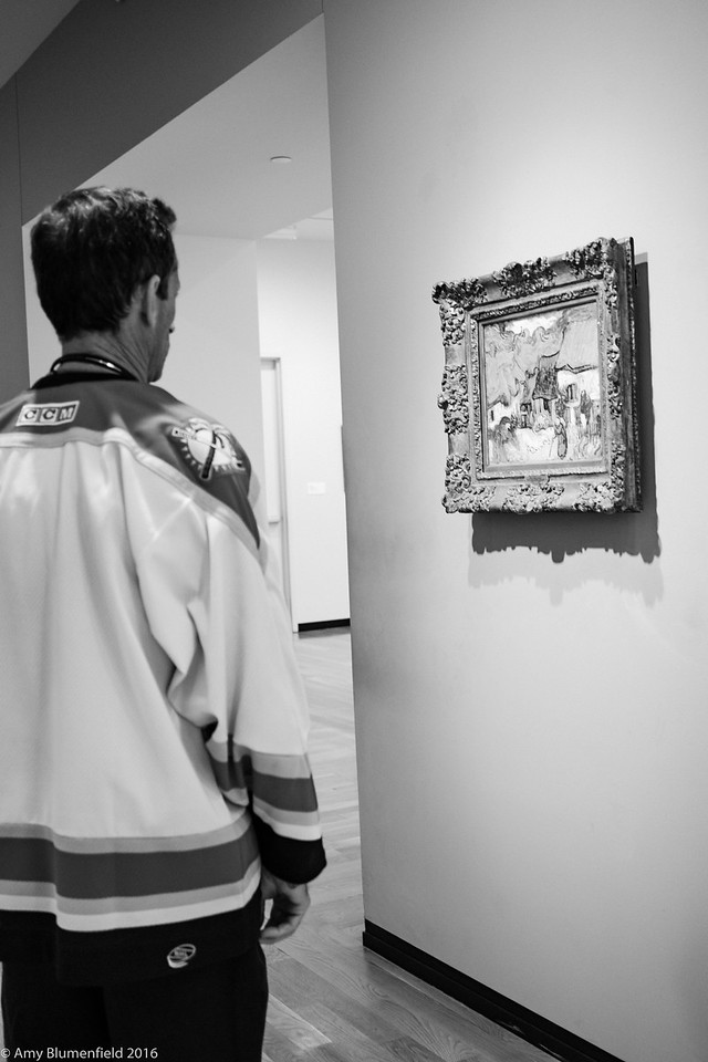 Contemplating Van Gogh