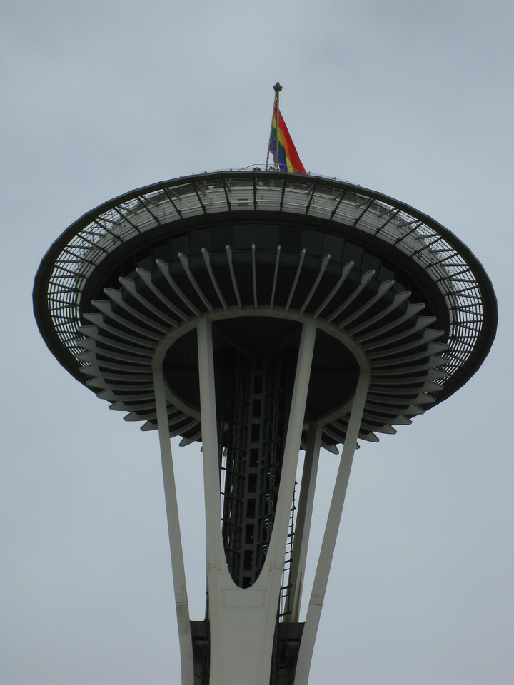 Gay Space Needle.