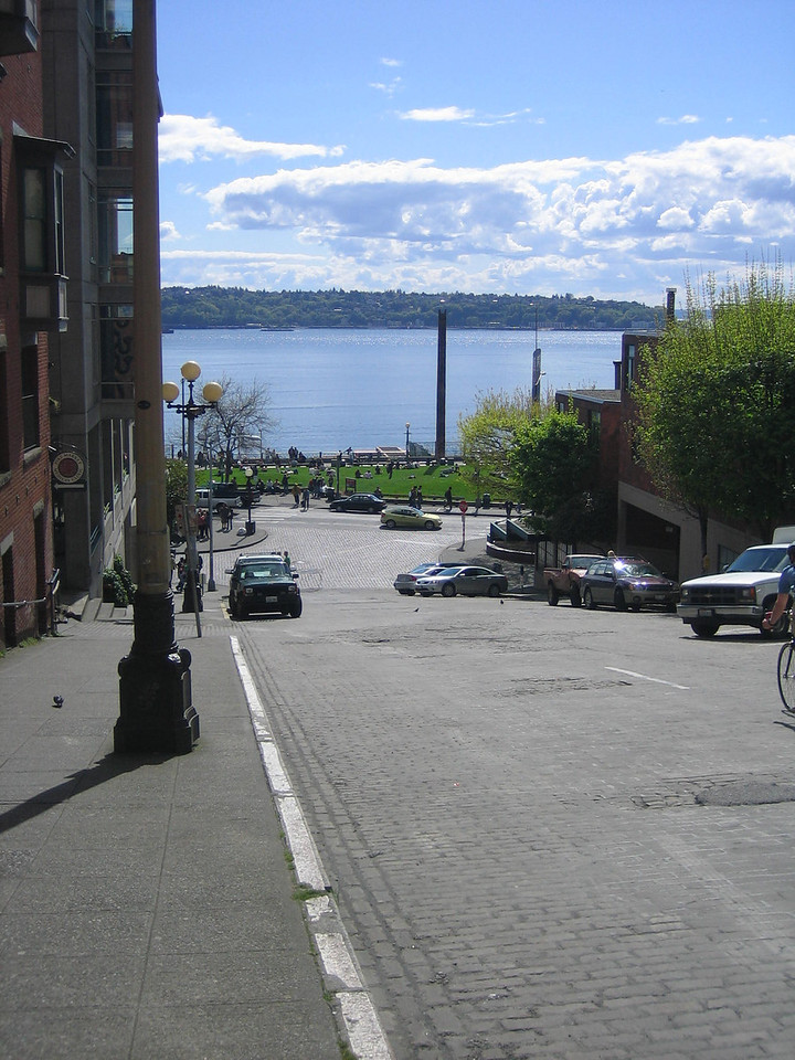 Looking towards Elliott Bay