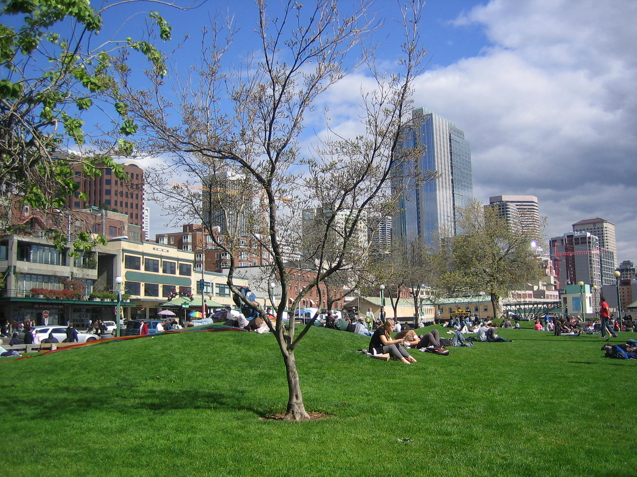 Springtime in Seattle - by Pike Market
