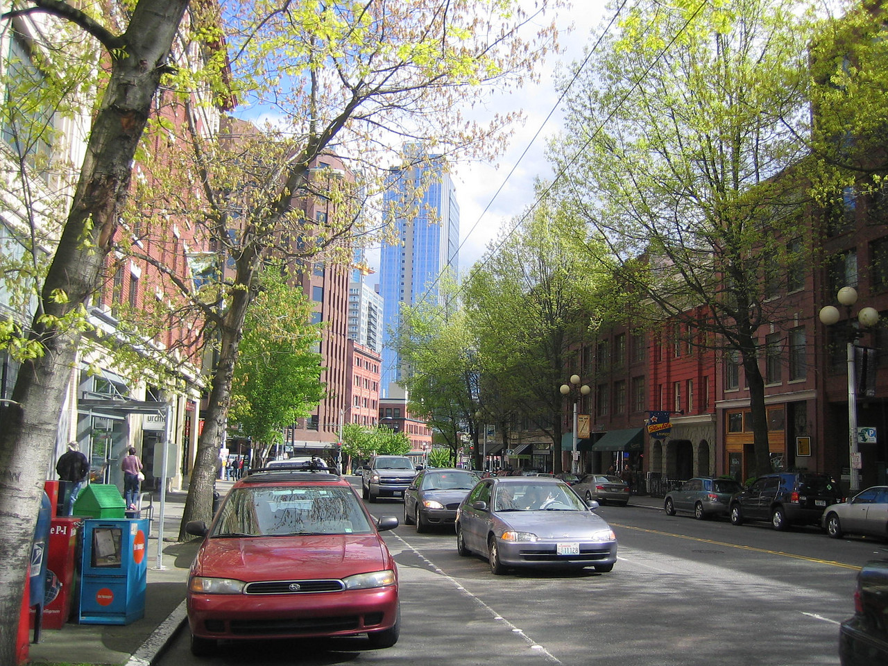 Spring in Seattle (First Ave.)