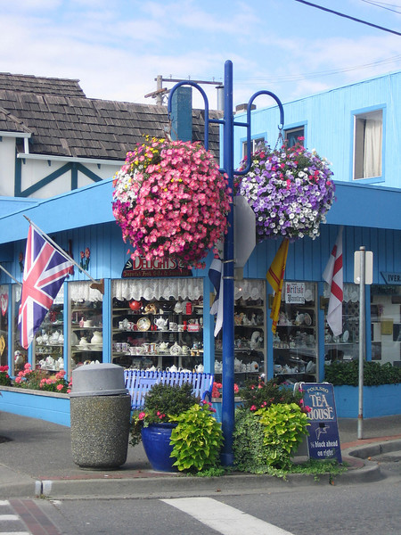 A British shop in Poulsbo