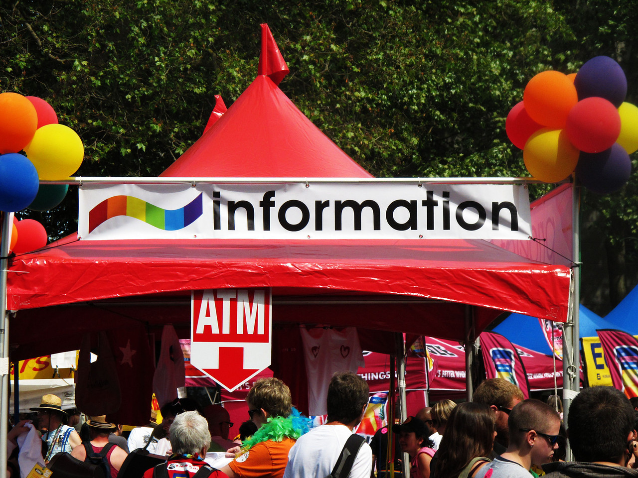I love that there was a place for gay information.
