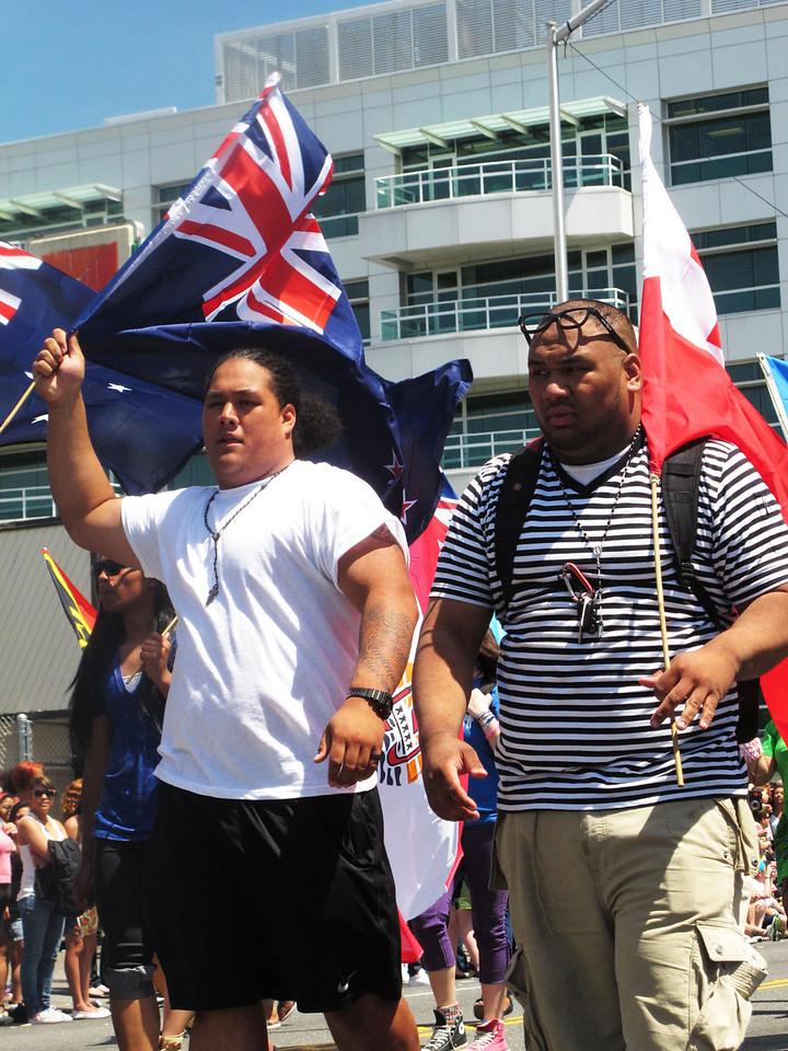 Representing Hawaii.