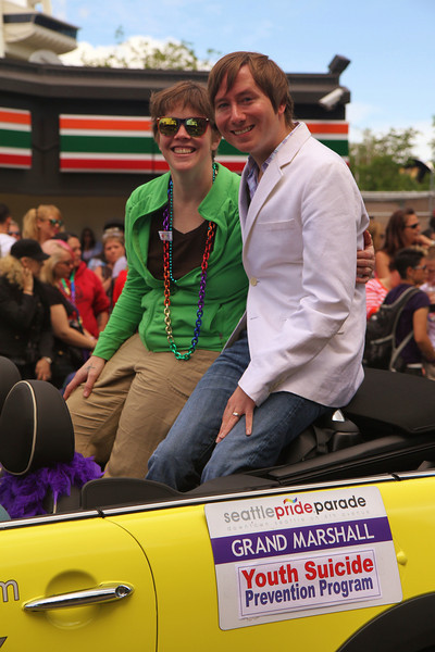 Jay was a Grand Marshall!