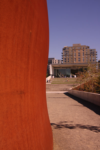 Sculpture garden.