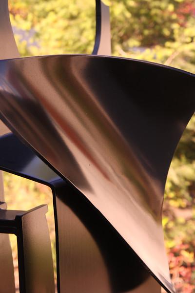 Sculpture reflections.