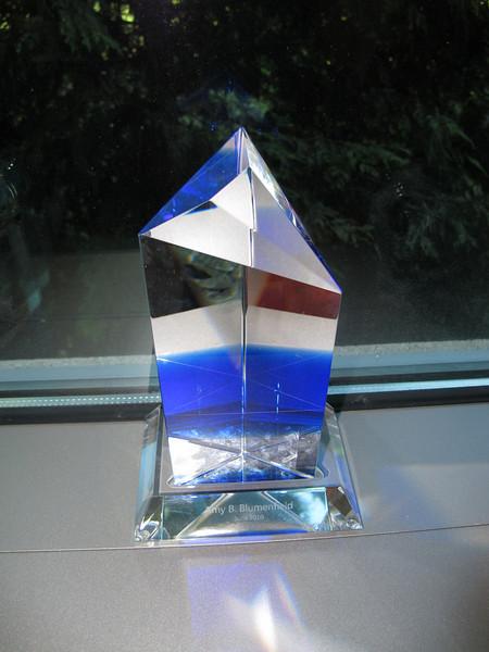 My 5 year (?!?!?!) crystal.