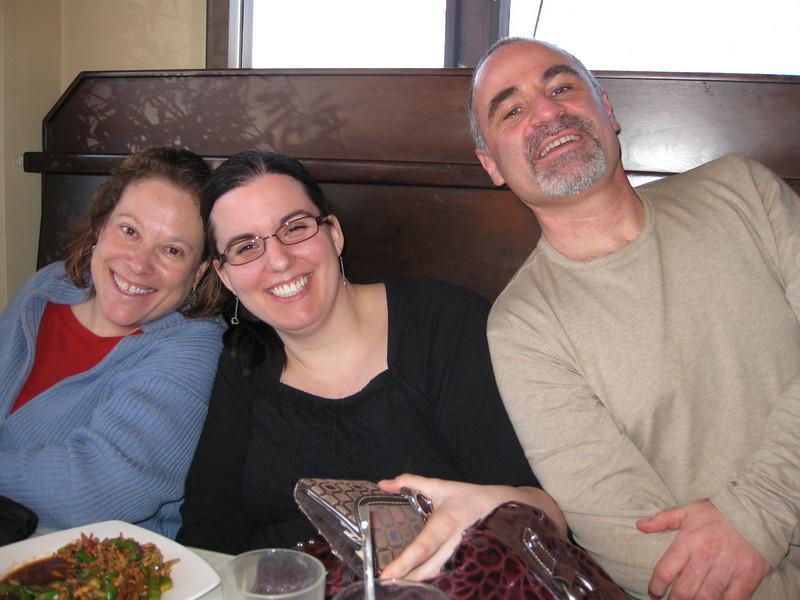 Amy, Jody & Robert celebrating Chase's birthday without Chase.