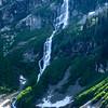 Rainy Lake waterfall