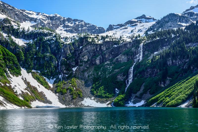 Rainy Lake snowmelt