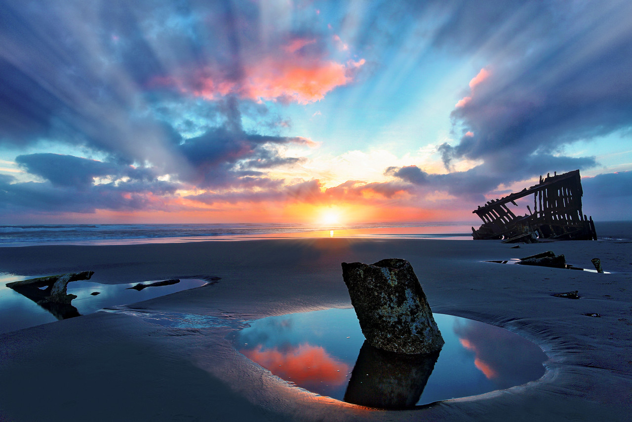 ~ Wreck of the Peter Iredale ~