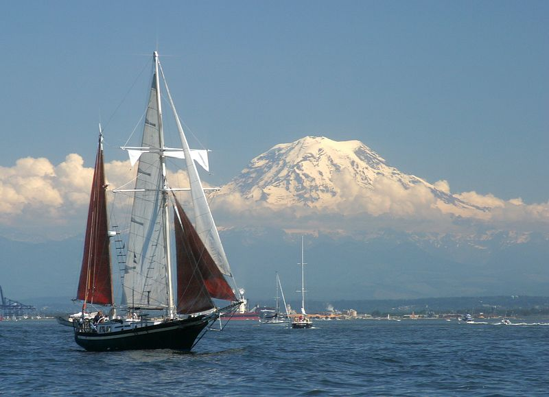 Taken at Commencement Bay in Tacoma during tall ships festival