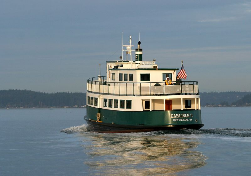 """The """"Foot Ferry"""" from Port Orchard to Bremerton"""