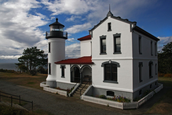 Admiralty Head at Fort Casey on Whidbey Island near Coupeville