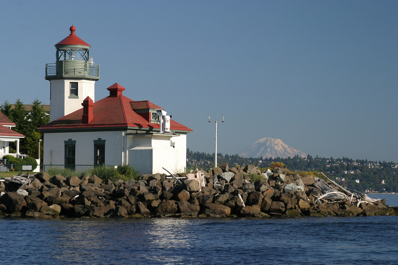 Alki Point Lighthouse -Seattle, WA