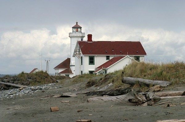 Point Wilson at Fort Worden near Port Townsend