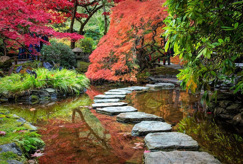 Japanese Garden at Burtchart Gardens
