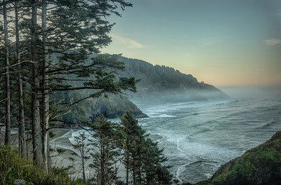 Heceta Head Beach Oregon Coast