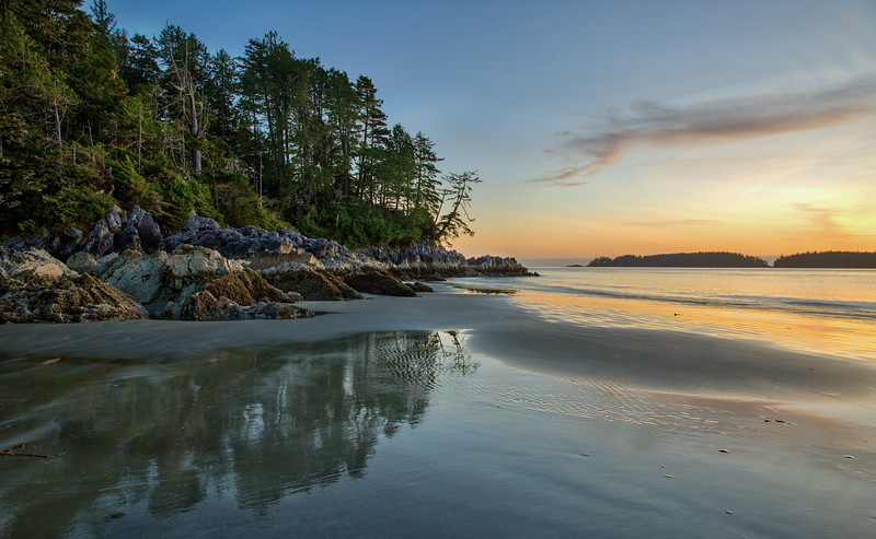 Sunset at Tonquin Beach, Tofino