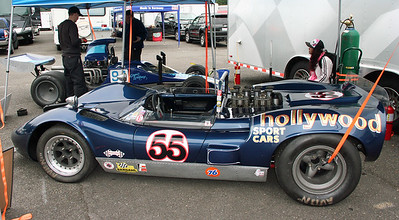McLaren M1B Driven in the day by Jim Adams.