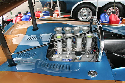 Overhead cam Boss 429 power, outlawed by NASCAR.