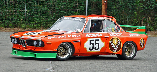BMW CSL.  Love that Jagermeister livery.