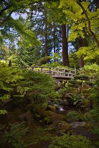 Japanese Garden Bridge, Portland, OR