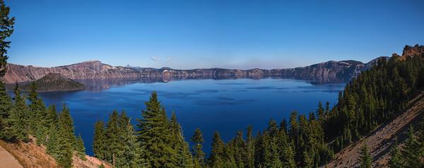 Crater Lake Pano, Oregon