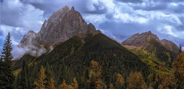 Mt. MacDonald Pano, Glacier Nat'l Park, Canada