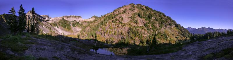 Artist Point Pano, Cascades, WA