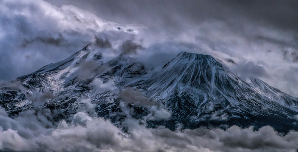 Storm Over Mt. Shasta Pano, California