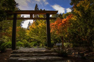 Japanese Garden Portal, Ashland, OR