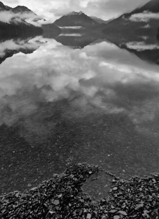 Crescent clouds