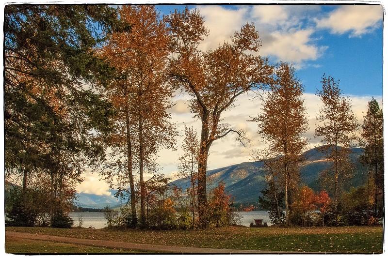 Kootenay Lake in the Fall