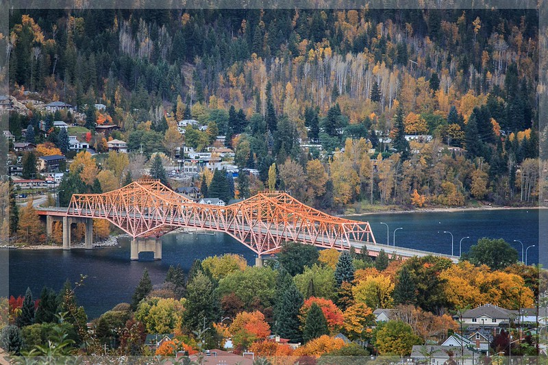 Orange Bridge - Nelson, BC