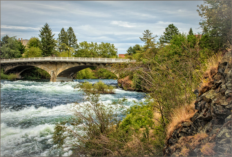 Bridge over Spokane Falls