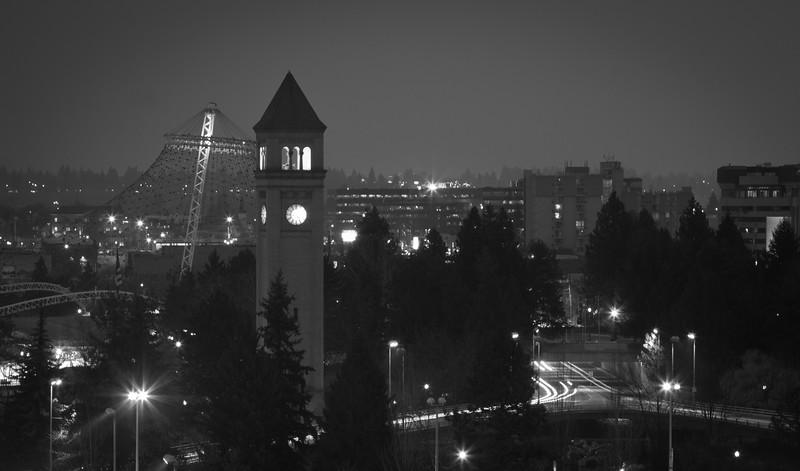 Spokane at Night
