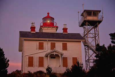 Yaquina Bay ca. 1871 Lighthouse Golden Hour