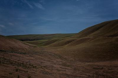 Rolling hills Palouse Hwy 82 east of Prosser WA 5-17-15
