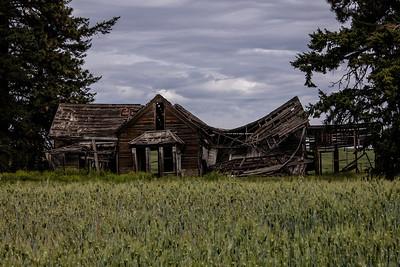 Abandoned Homestead Waterville Washington