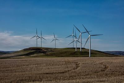 Palouse Butte wind turbines spring 3-23-17