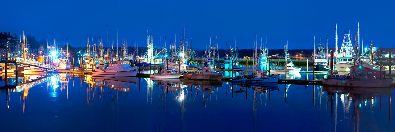Yaquina Bay Boats - Newport, Oregon