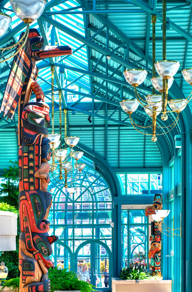Empress Hotel Solarium Victoria, BC