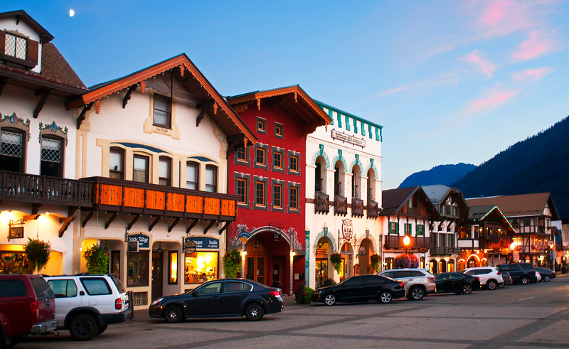 Leavenworth Washington, a Bavarian town.