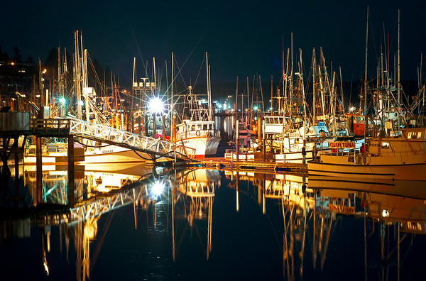 Boat harbor - Newport, Oregon