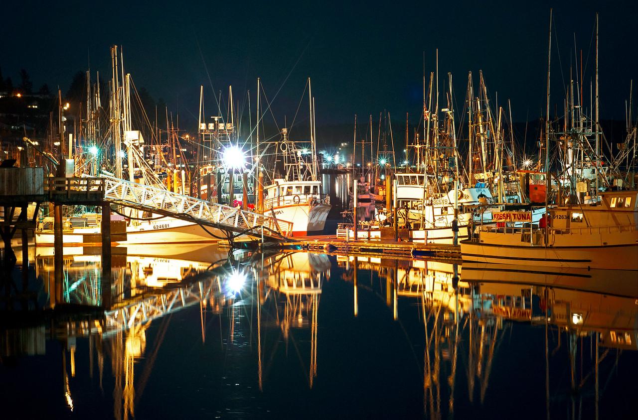 Boat harbor - Newport, Oregon