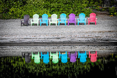 Colorful Invitation.  Lake Quinault Lodge, Washington State