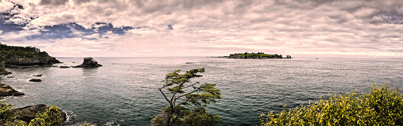 Tatoosh Island near Cape Flattery, Washington State, USA