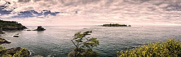 Tatoosh Island near Cape Flattery, Washington State, USA